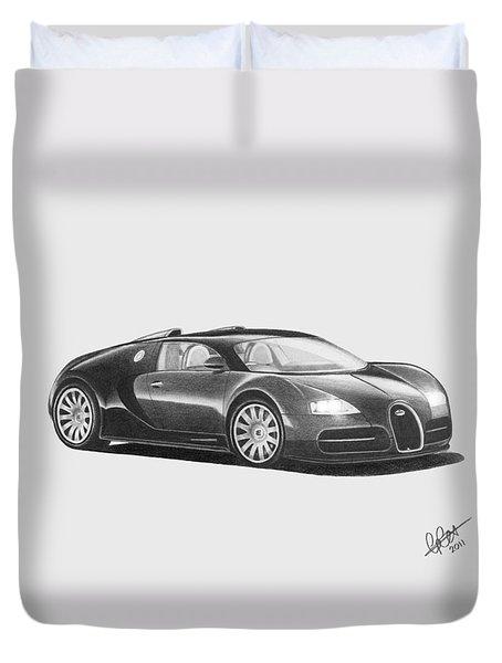 Bugatti Veyron Eb Duvet Cover