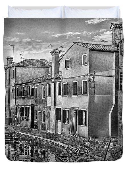 Burano 3 Duvet Cover by Mauro Celotti
