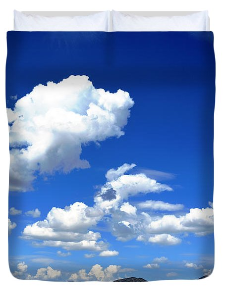 Butte Valley Nevada Duvet Cover