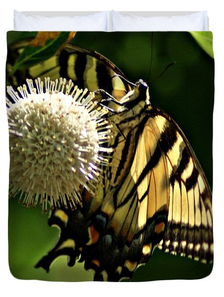 Butterfly 2 Duvet Cover by Joe Faherty