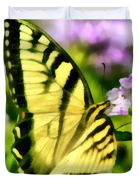 Butterfly Duvet Cover by Lynne Jenkins