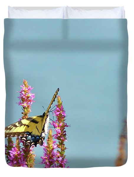 Butterfly Morning Duvet Cover by Bill Cannon