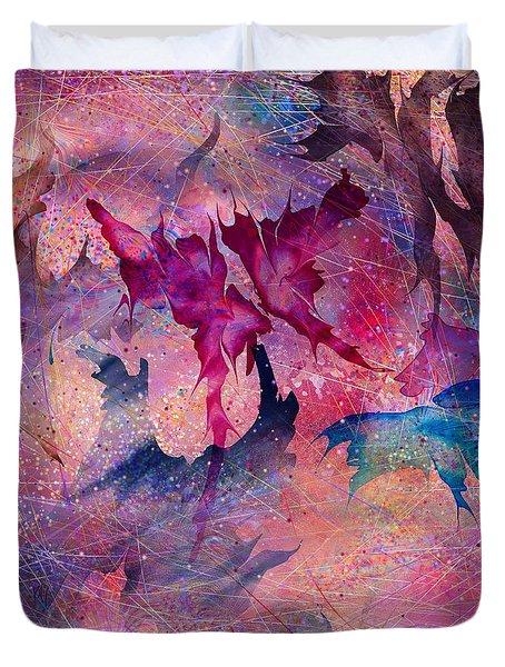 Butterfly Duvet Cover by Rachel Christine Nowicki