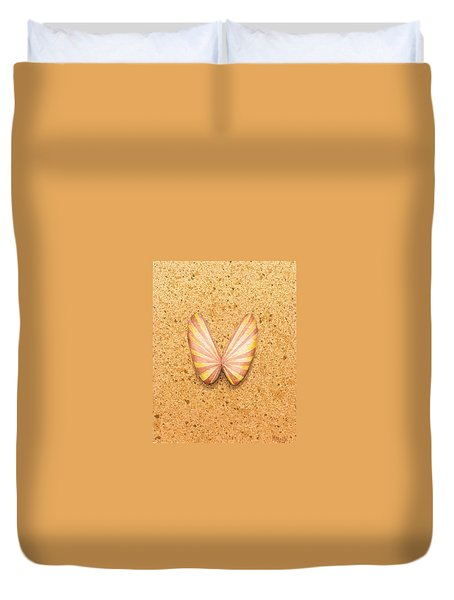 Butterfly Sea Shell Duvet Cover