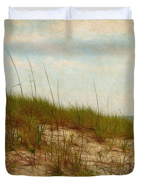 By The Sea Duvet Cover by Judi Bagwell