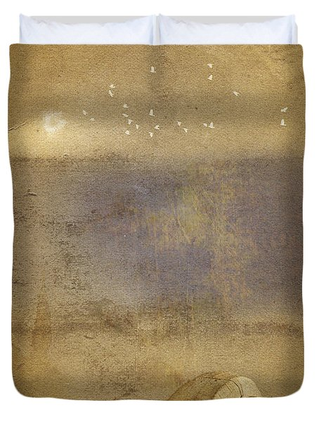 By The Sea Duvet Cover by Ron Jones