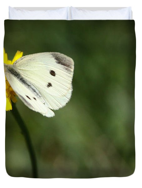 Cabbage Butterfly Duvet Cover