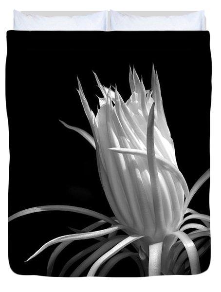 Cactus Flower Duvet Cover by Sabrina L Ryan
