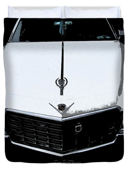 Cadillac Pimp Mobile Duvet Cover by Kym Backland