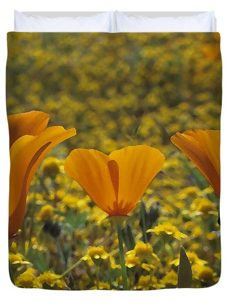California Gold Duvet Cover