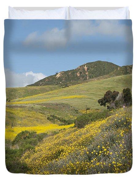 California Hillside View I Duvet Cover