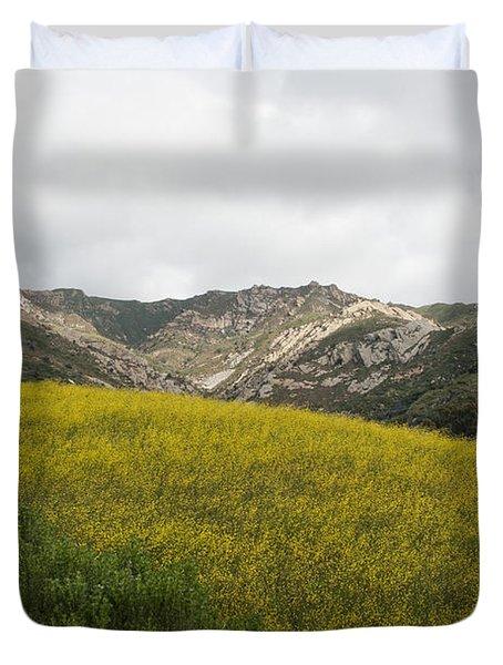 California Hillside View V Duvet Cover