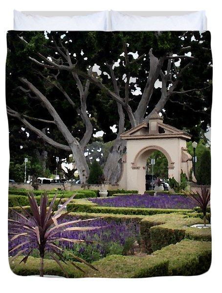 California Park Duvet Cover