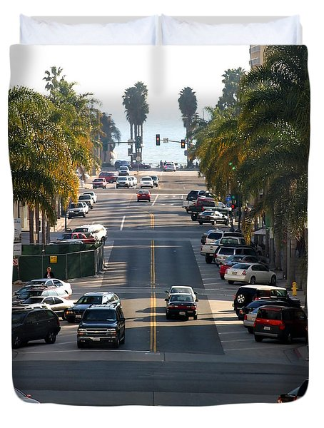 California Street Duvet Cover