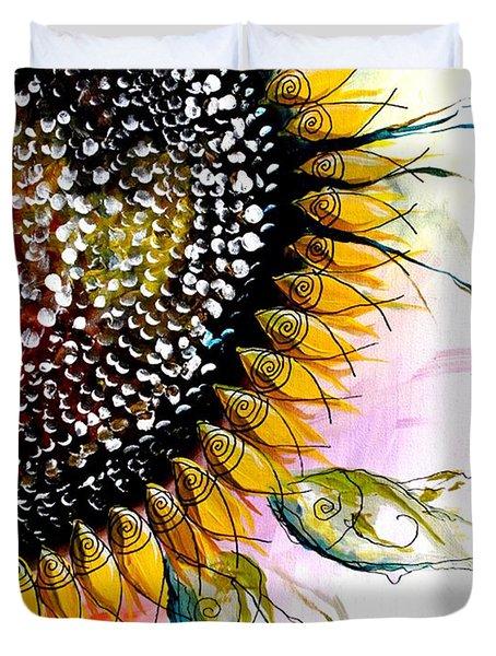 California Sunflower Duvet Cover
