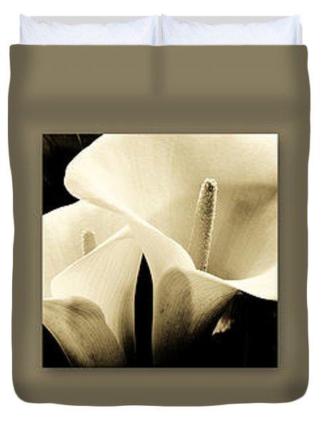 Calla Lilies Art Duvet Cover