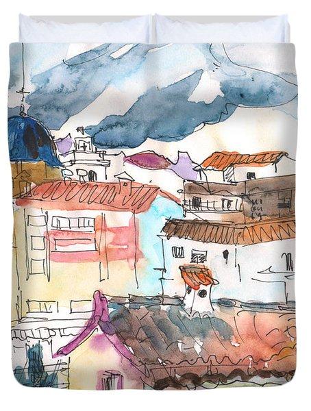 Callosa De Ensarria 02 Duvet Cover by Miki De Goodaboom