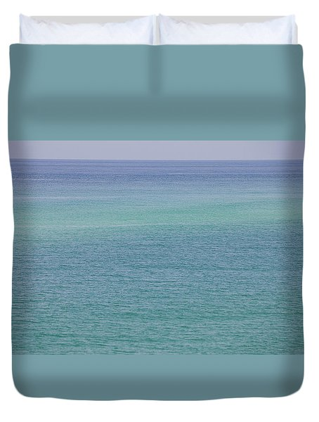 Calm Waters Duvet Cover by Toni Hopper