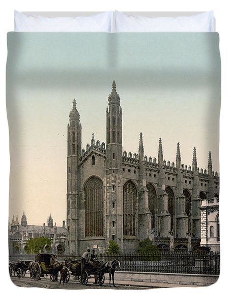 Cambridge - England - Kings College Duvet Cover by International  Images