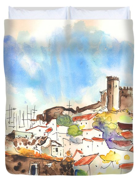 Campo Maior In Portugal 02 Duvet Cover by Miki De Goodaboom