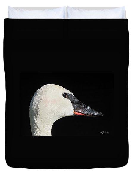 Trumpeter Swan Duvet Cover