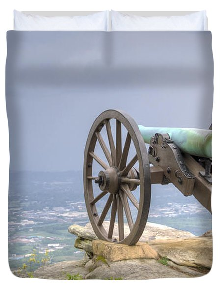 Cannon 2 Duvet Cover by David Troxel