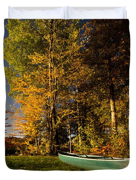 Canoe Duvet Cover by Cale Best