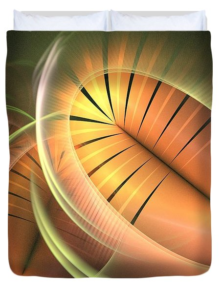 Canteloupe Duvet Cover by Kim Sy Ok