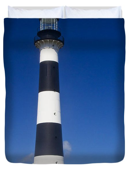 Cape Canaveral Lighthouse 2 Duvet Cover by Roger Wedegis