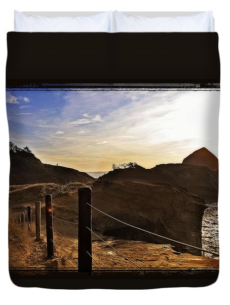 Cape Kiwanda Oregon Duvet Cover