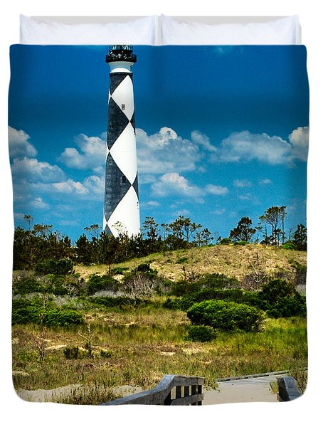 Cape Lookout Light Duvet Cover