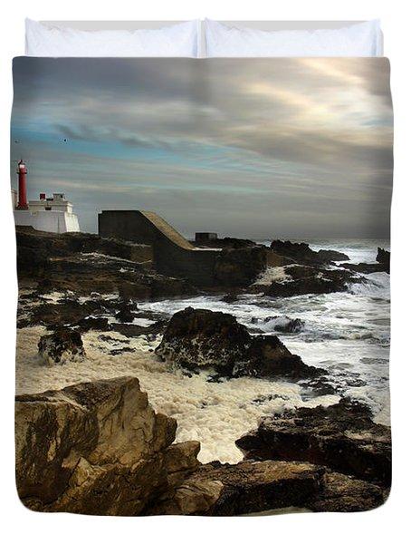 Cape Raso Duvet Cover by Carlos Caetano