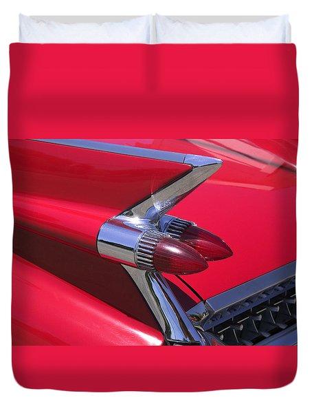 Car Detail Duvet Cover by Garry Gay