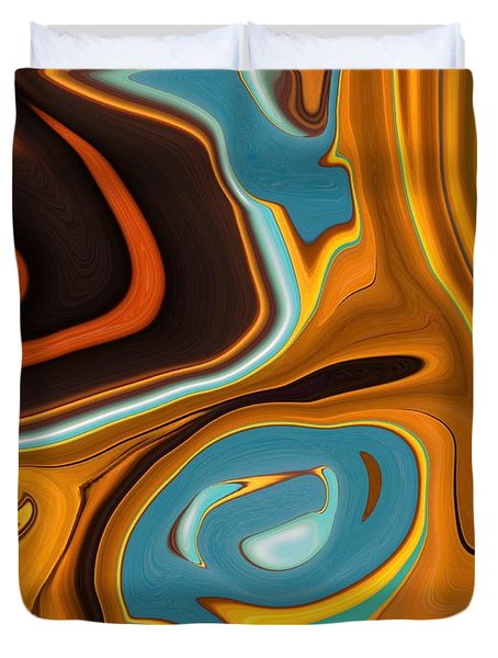 Caramel Dreams Duvet Cover