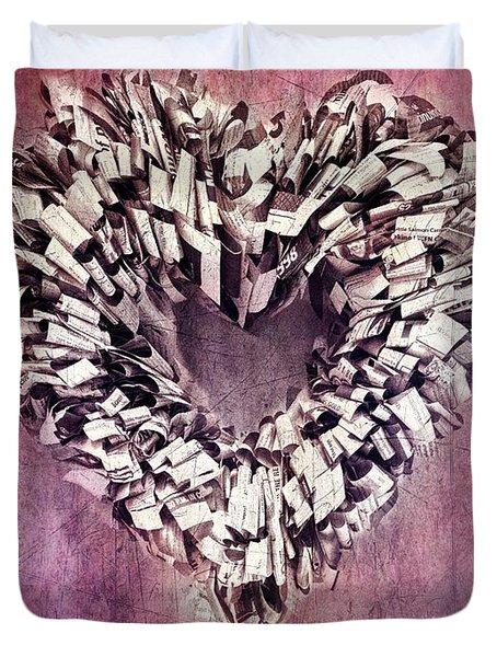 Cardia Duvet Cover by Priska Wettstein