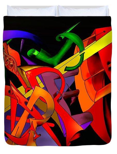 Carpe Diem IIi Duvet Cover by Helmut Rottler