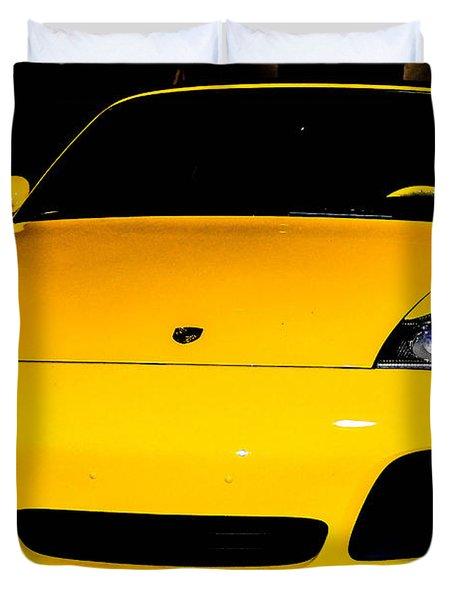 Carrera 4s Duvet Cover