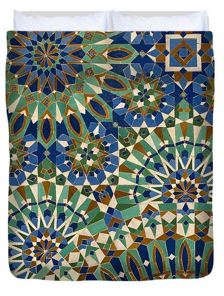 Casablanca, Morocco Duvet Cover by Axiom Photographic