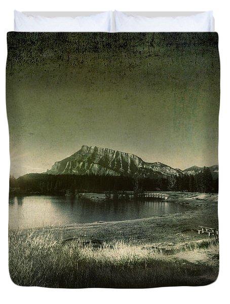 Cascade Pond Banff Duvet Cover