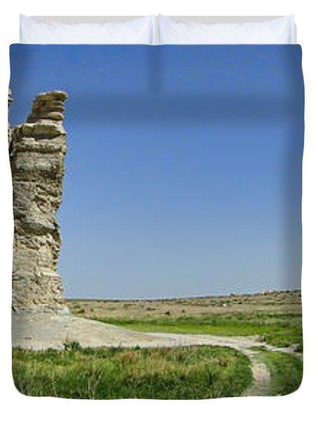 Castle Rock Duvet Cover by Alan Hutchins