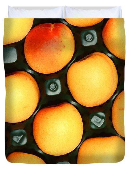 Castlebrite Apricot Duvet Cover by Photo Researchers