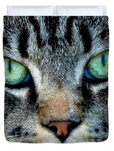 Cat Face Duvet Cover