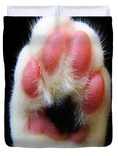 Cat's Honor Duvet Cover by Art Dingo