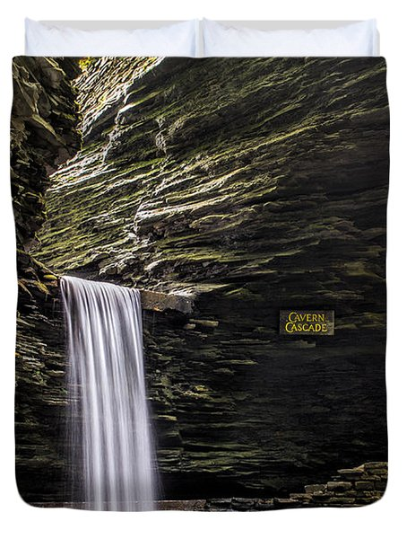 Cavern Cascade Duvet Cover
