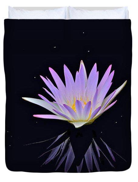 Celestial Waterlily Duvet Cover