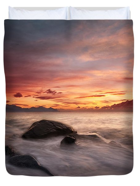 Celtic Sunset Duvet Cover
