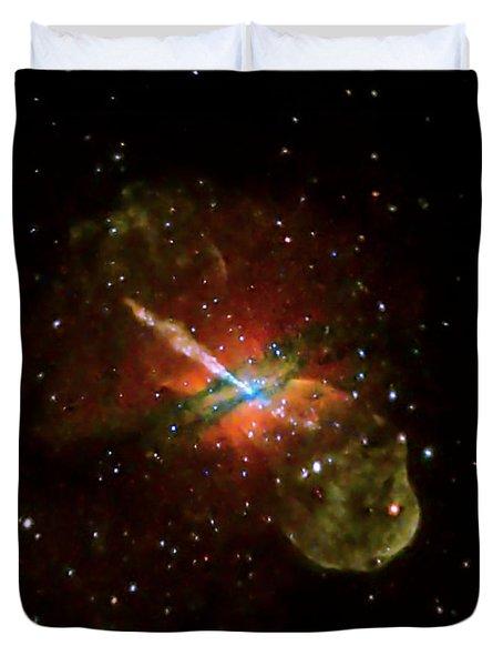 Centaurus A Duvet Cover by Nasa