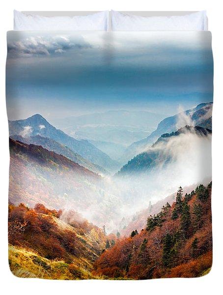 Central Balkan National Park Duvet Cover by Evgeni Dinev