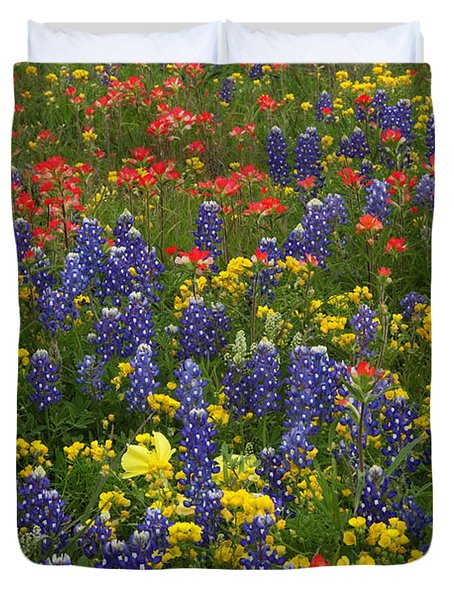 Central Texas Mix Duvet Cover