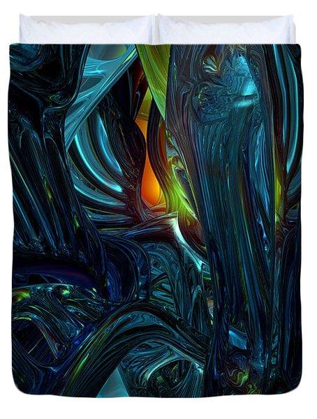 Certain Inner Peace Fx  Duvet Cover by G Adam Orosco